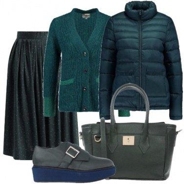 Outfit Toni di verde
