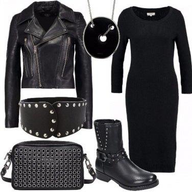 Outfit Rock e borchie