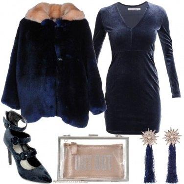 Outfit Blu per la sera