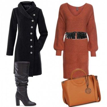 Come abbinare il vestito marrone: 1000 Outfit Donna