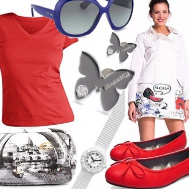 Outfit Red Spring
