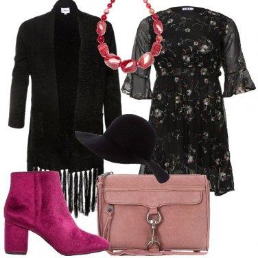 Outfit Il cappello nero