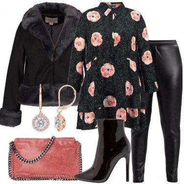 Outfit Mini abito e leggings