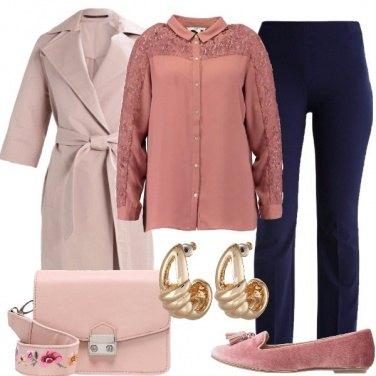 Outfit Rosa e blu