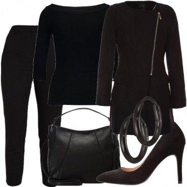 Outfit Profondo nero