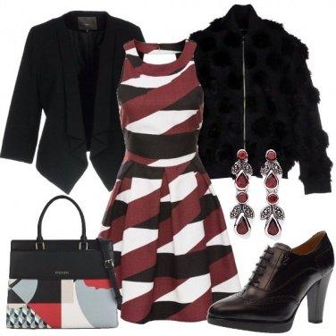 Outfit Abito e francesine