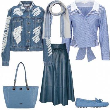 l'atteggiamento migliore ad56f a7d01 Come abbinare la gonna con laccetti: 104 Outfit Donna | Inverno ...