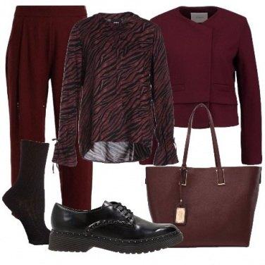 Outfit Sintonia di colori