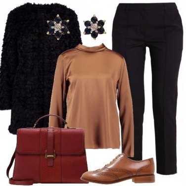 Outfit Stringate in pelle