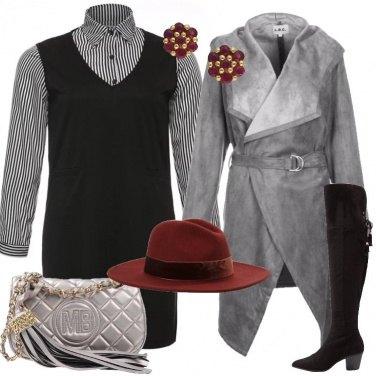 Outfit Il cappotto grigio