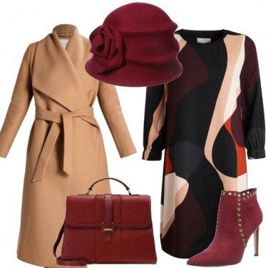 Outfit Il mio amato bordeaux