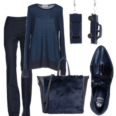 Outfit Tutto blu