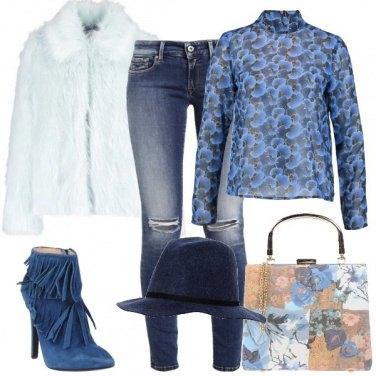 Outfit Mi vesto di blu
