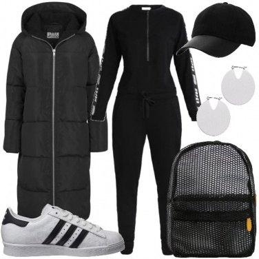 Outfit La jumpsuit sportiva