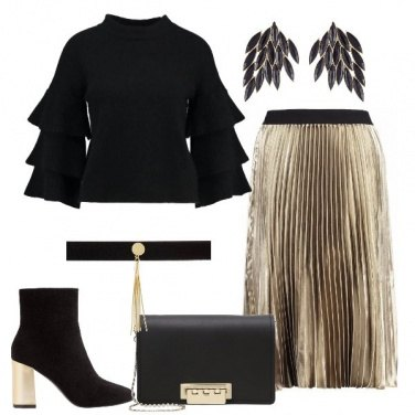 Outfit La gonna d\'oro