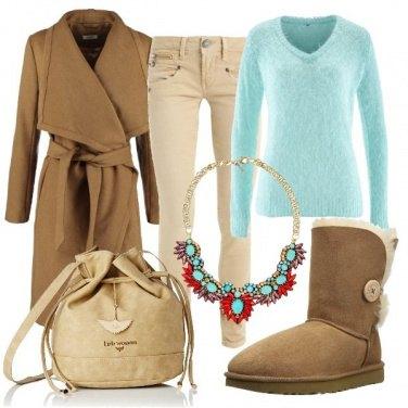 Outfit La collana azzurra