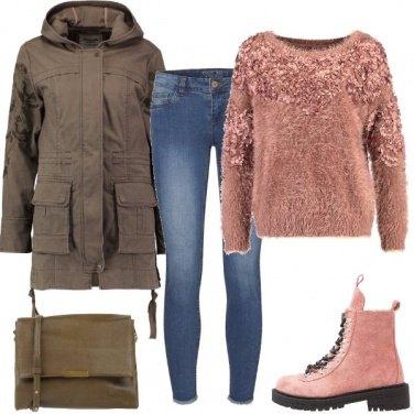 Outfit Stivaletti e jeans