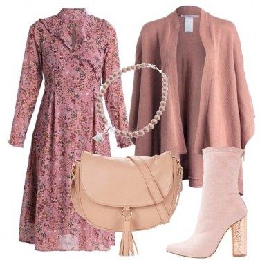 Outfit Quando si ama il rosa
