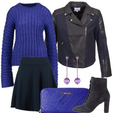 Outfit Purple rock