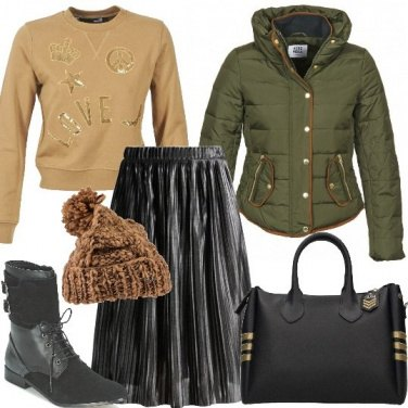 Outfit Trendy in gonna