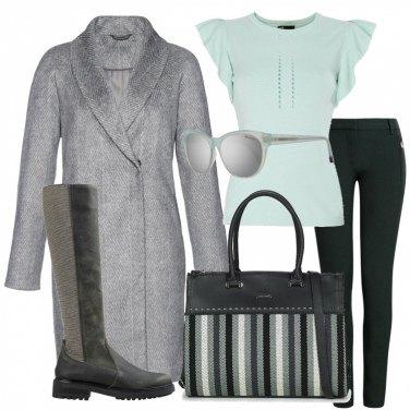 Outfit Cappotto Grigio: 1000 Idee da Provare | Bantoa