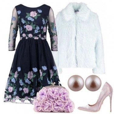 Outfit L\'abito ampio a fiori