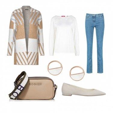 Come abbinare la maglioncino melange: 787 Outfit Donna