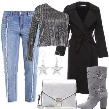 Outfit Denim brillante