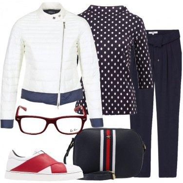 Outfit Il piumino bianco