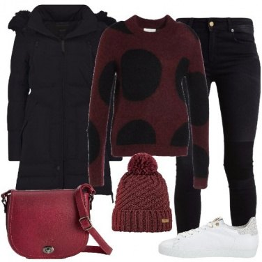 Outfit Magline a pois