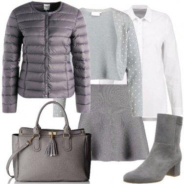 Outfit Il grigio mi dona