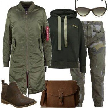 Outfit Camouflage