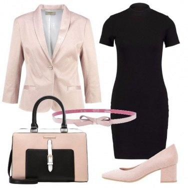 Outfit Il tubino romantico