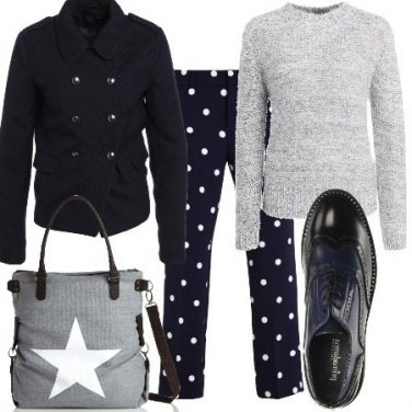 Outfit Giorno a pois