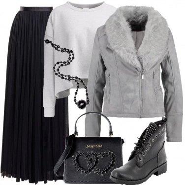 Outfit La lunga per il rock