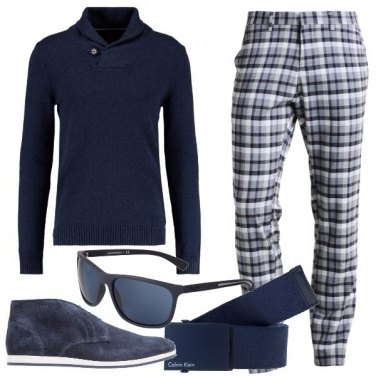 Outfit Sul blu