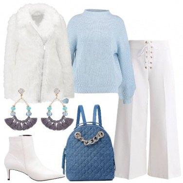 Outfit Toni glaciali