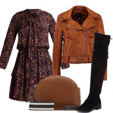 Outfit Balze e chiodo