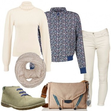 Outfit Candido beige