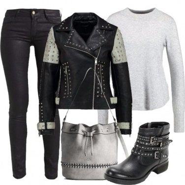 Outfit La mia giornata rock