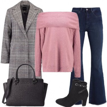 Outfit I jeans a zampa