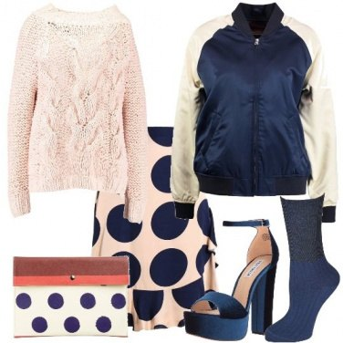 Outfit Trendy pois