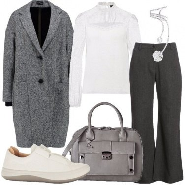 Outfit Le sneakers bianche