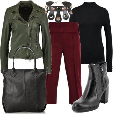 Outfit Il choker rock