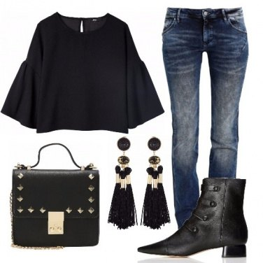Outfit Top nero