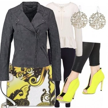 Outfit Leggings modellanti in primavera