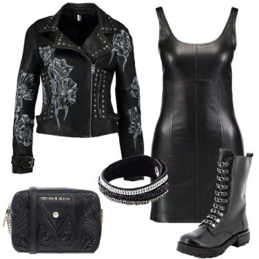Outfit Sexy con ilbiker