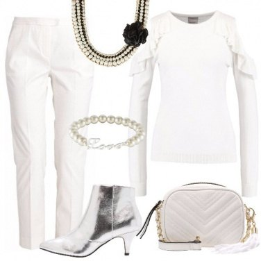 Outfit Bianco evento