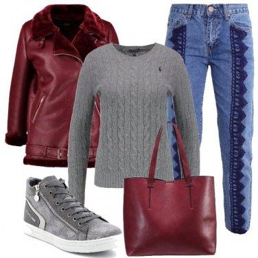 Outfit Biker e jeans