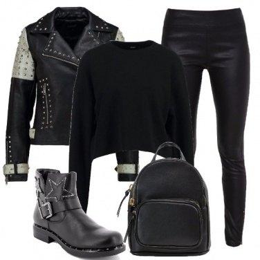 Outfit Il nero domina